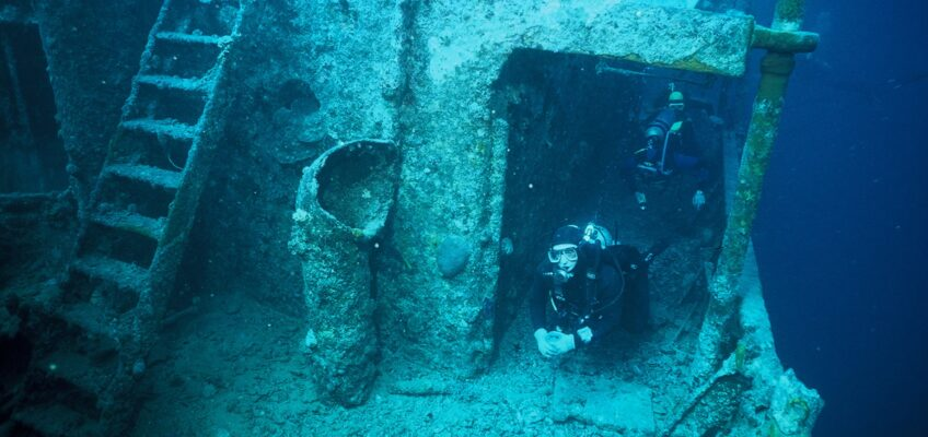 Diving the Thistlegorm, morning 3rd January 2017